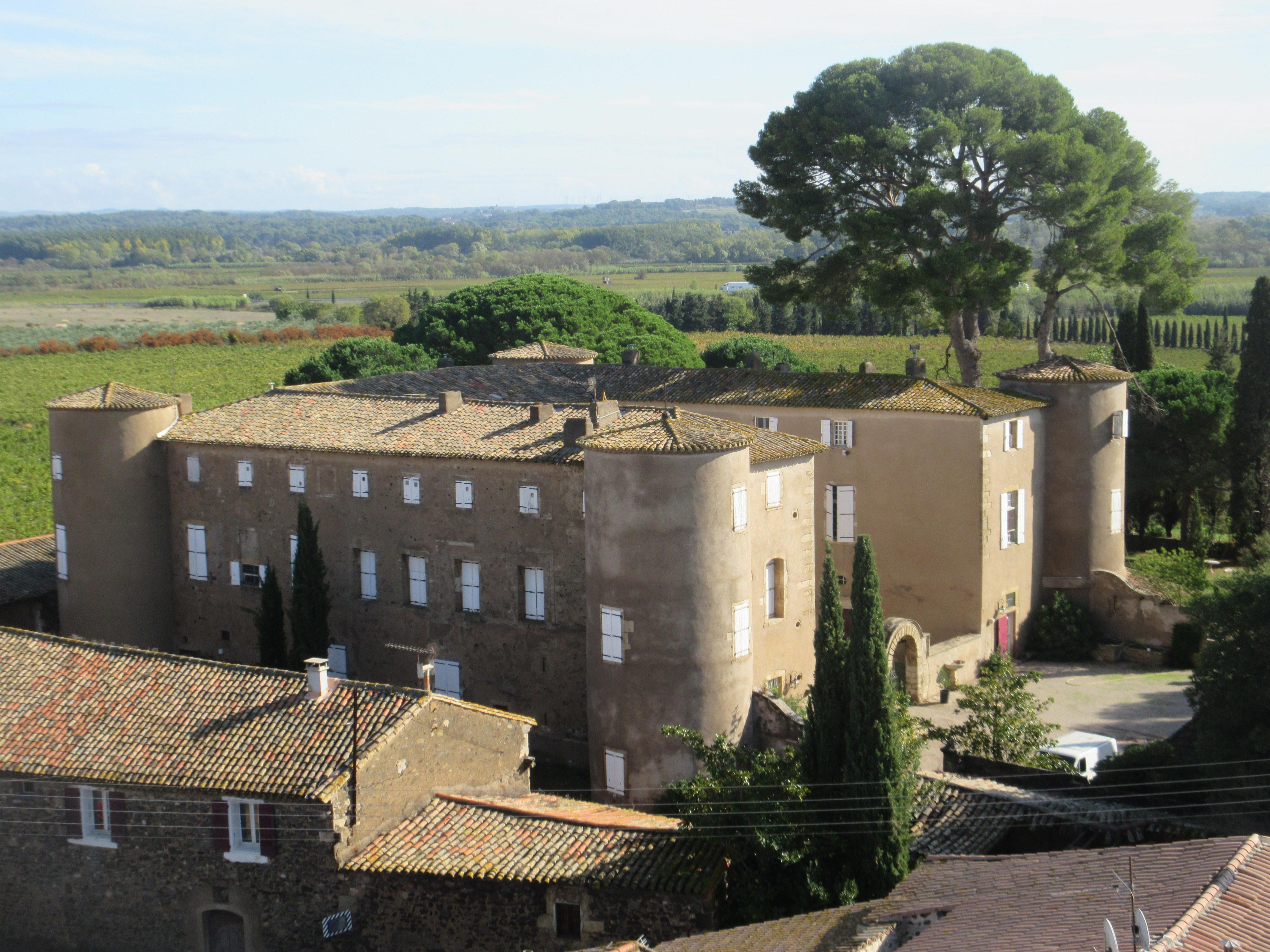 château de Lézignan la cèbe